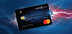 Samba Supercharged Titanium Credit Card